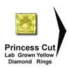 princess cut yellow diamond ring, Titanium Rings, loose yellow diamonds