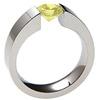 EXCENTRIS, yellow diamond engagement ring, lab grown diamonds