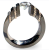 Black Titanium Ring - Epoulet Doro Black