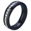 Black Titanium Ring - ETERNITY IN BLACK TITANIUM - AbsoluteTitanium.com