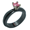 Black Zirconium Ring - Adrasteia