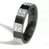 Black Titanium Ring- Gallantie