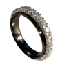 Black Zirconium Ring - Eternity
