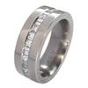 Titanium Ring - Eternity Combo