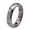 Titanium Ring - Oriel with Diamonds
