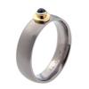 Titanium Ring - Peridot