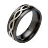 Black Zirconium Ring - Avalon