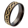Black Zirconium Ring - Eternus