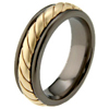 Black Titanium Ring - Florence