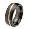 Black Titanium Ring - Fugue