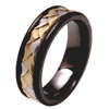 Black Zirconium Ring - Genoa