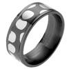 Titanium Ring - Mokumegane Leopard