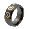 Black Titanium Ring - Royal