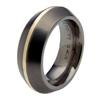 Black Titanium Ring - Veritus Inlay