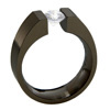 Black Zirconium Ring - Allonge