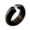 Black Titanium Ring - Angula