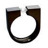 Black Zirconium Ring - Anvil