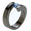Black Zirconium Ring - Spira
