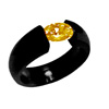 Black Zirconium Ring - Vella