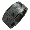 Black Titanium Ring - Braid