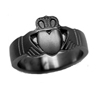 Black Zirconium Ring - Claddah