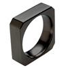 Black Titanium Ring - Octo