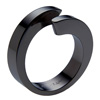 Black Titanium Ring - Spira