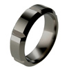 Black Titanium Ring - Quantum