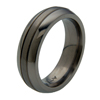Black Titanium Ring - Windsor