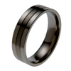 Black Zirconium Ring - Windsor Flat