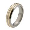 Titanium Ring - Duet Inlay