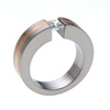 Titanium Ring - Concentric with inlay