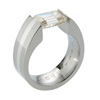 Titanium Ring - Excentris Inlay