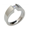 Titanium Ring - Excentris Tapered
