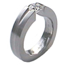 Titanium Ring - Gallantie Trio Tapered