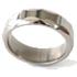Titanium Ring - Facets Galore