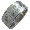 Titanium Ring - Braid
