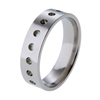 Titanium Ring - Dots