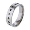 Titanium Ring - Dots