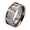 Titanium Ring - Hollow Squares