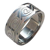 Titanium Ring - Wave