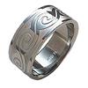 Titanium Ring - Wave