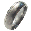 Titanium Ring - Groovy Frosty